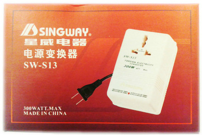 SINGWAY 300 W 500 W 1000 W 110 V 120 V à 220 V 240 V abaisseur convertisseur de tension transformateur voyage double canal convertisseur de puissance