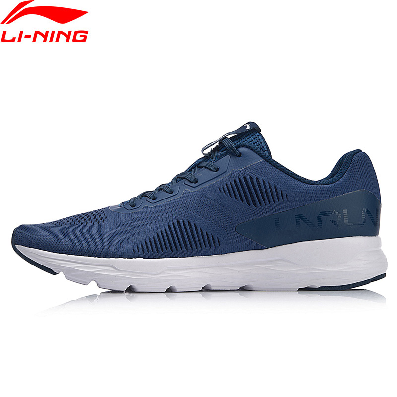 Li Ning Men ACE RUN Running Shoes Light Weight Wearable Breathable LiNing Fitness Sport Shoes Sneakers