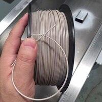 Флексированная нить 3d принтера, 1,75 мм PEEK нить, 250 г, высокотемпературная 3D печатная нить, натуральный цвет