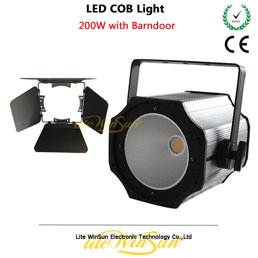 Litewinsune High Power 200W COB LED Light Surface Performance Theater Wedding Disco DJ Light
