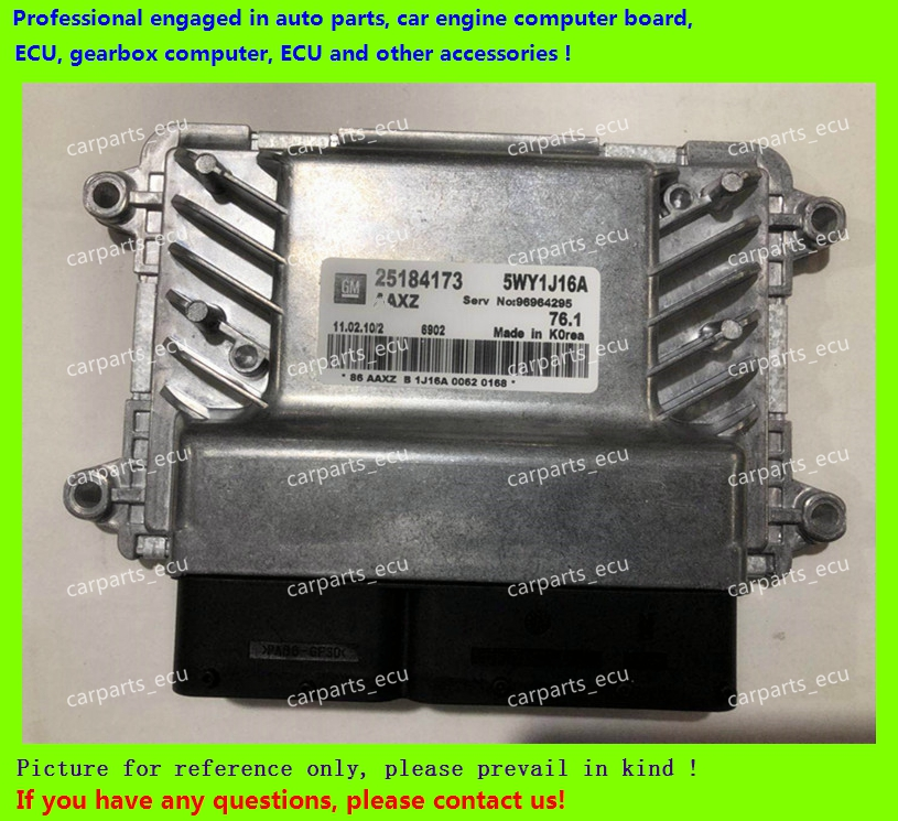 For Car Engine Computer Board/Chevrolet Cruze Epica ECU/Electronic Control Unit/Car PC/25184173