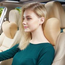 Car Headrest Neck Pillow For Seat Chair in Auto Memory Cotton Cushion Cover Soft Head Rest Travel Support Auto Neck Protection in stock 2018 xiaomi 8h z2 natural latex elastic soft pillow neck protection cushion