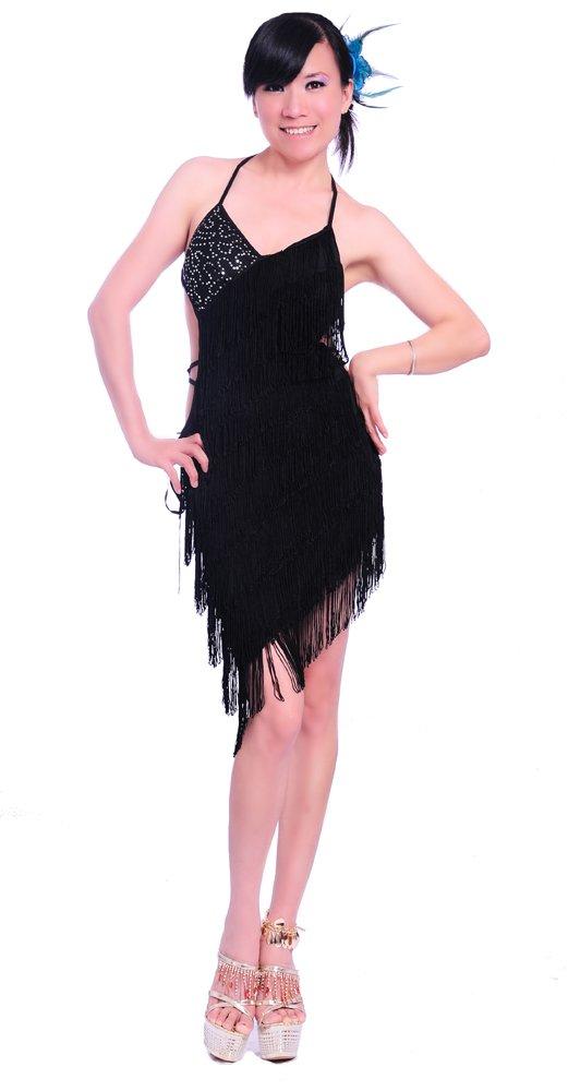 Belly Dance Costume Latin tango salsa Cha Cha Ballroom Flamenco dress 5 colors