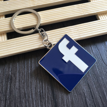Facebook WhatsApp Badge Car styling Keychain For BMW E46 E39 E90 E60 E36 F30 F10 E34 X5 E53 E30 F20 E92 E87 M3 M4 M5 X5 X6 image