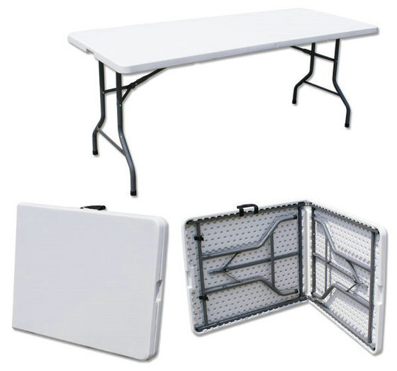 180*74*74cm Multipurpose Portable Folding Table Long Conference Desk Outdoor Picnic Table