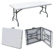 183*76*74cm  Portable folding table Long Conference desk Outdoor Picnic table