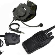 Тактический Bowman Evo iii гарнитура Радио рация Z029-S112-KEN с военной Kenwod Peltor PTT набор