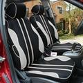 Respirável tampa de assento do carro especial para suzuki swift sx4 kizashi wagon r grand vitara jimny paleta stingray preto acessórios do carro