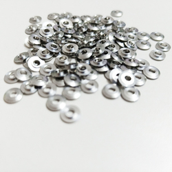 100pcs/lot Mini Metal Washer Gasket shim spacers for 520 ball bearing guide wheel Roller 94768 spare parts for Tamiya 4WD RC Car