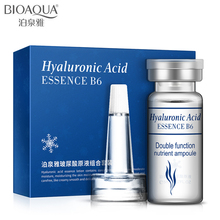 Bioaqua Brand Moisturizing Hyaluronic Acid Vitamins Serum Facial Skin Care Anti Wrinkle Aging Collagen Essence Liquid 10pcs
