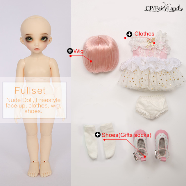 Fairyland Littlefee   1/6 BJD SD Dolls Model Girls Boys Eyes High Quality Toys Shop Resin Gifts Free eyes