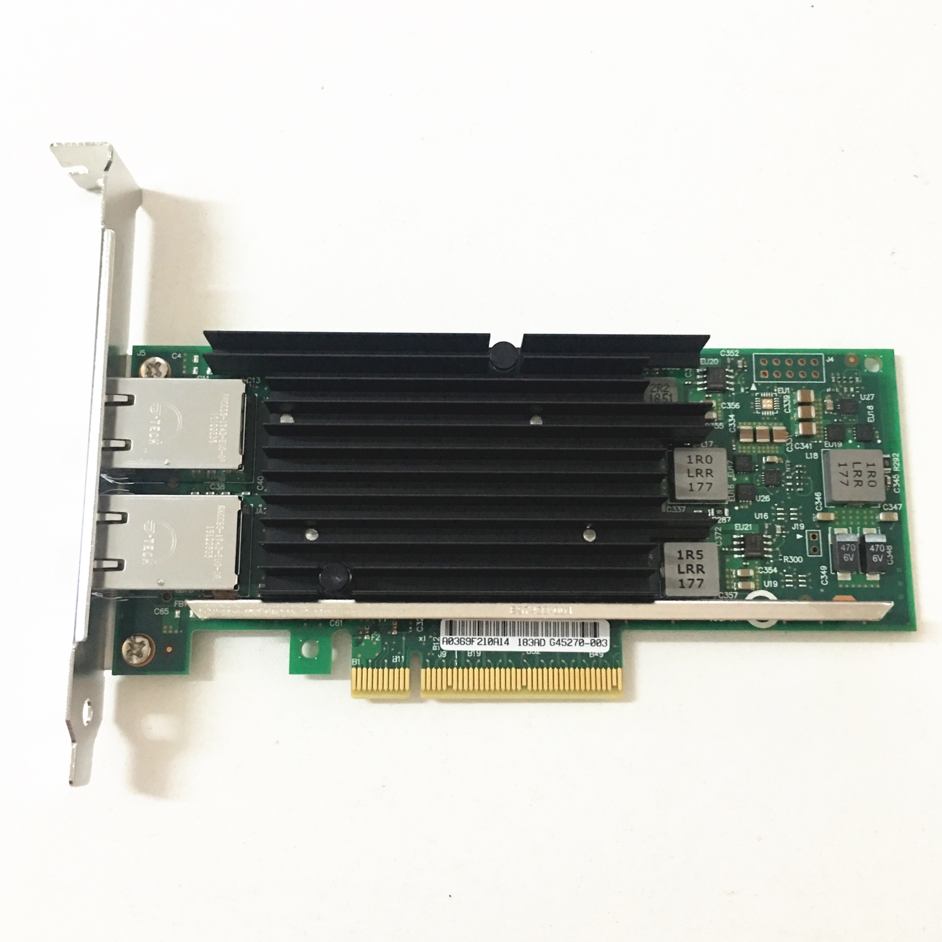 China OEM Unit X540 T2 PCI E X8 dual ports RJ45 Ethernet Network Adapter 10Gbps Server Network card New