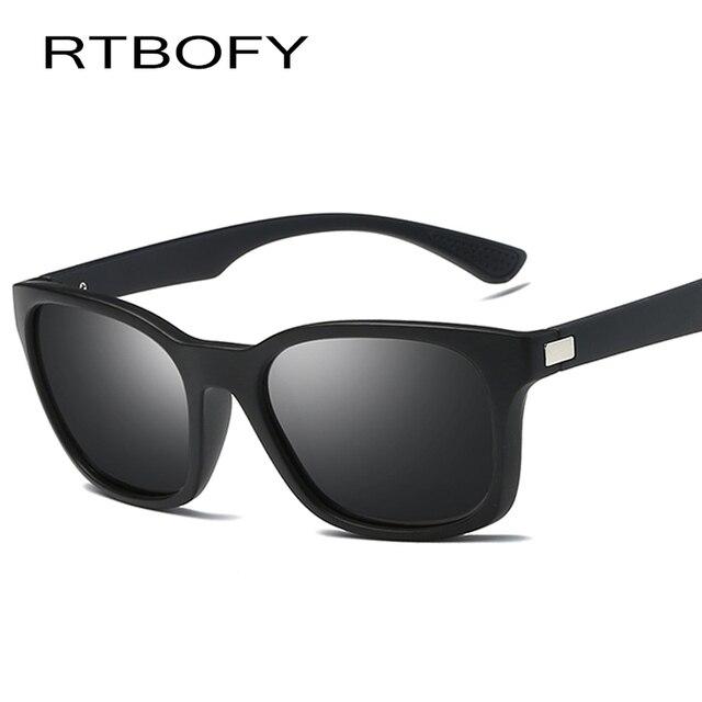 778c9bc9a8 RTBOFY Polarized Men Sunglasses Mirror Oversized Black Square Driver Fishing  Sun Glasses Sports HD Lens Women Designer shades