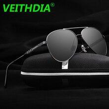 VEITHDIA Original Brand Aluminum Magnesium HD Lens Polarized Sunglasses Men Driving Goggles Sun Glasses Eyeglasses New 6698