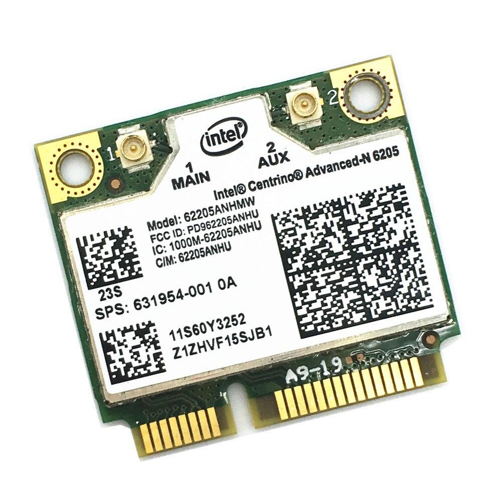 Free Shipping For Centrino Advanced-N Intel 6205 62205HMW Wireless Wifi Card For X220 X220i T420 60Y3253