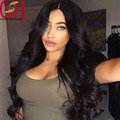 Cheap glueless full lace wigs with baby hair wet wavy virgin human hair lace wigs for black women bleached knots lace front wig