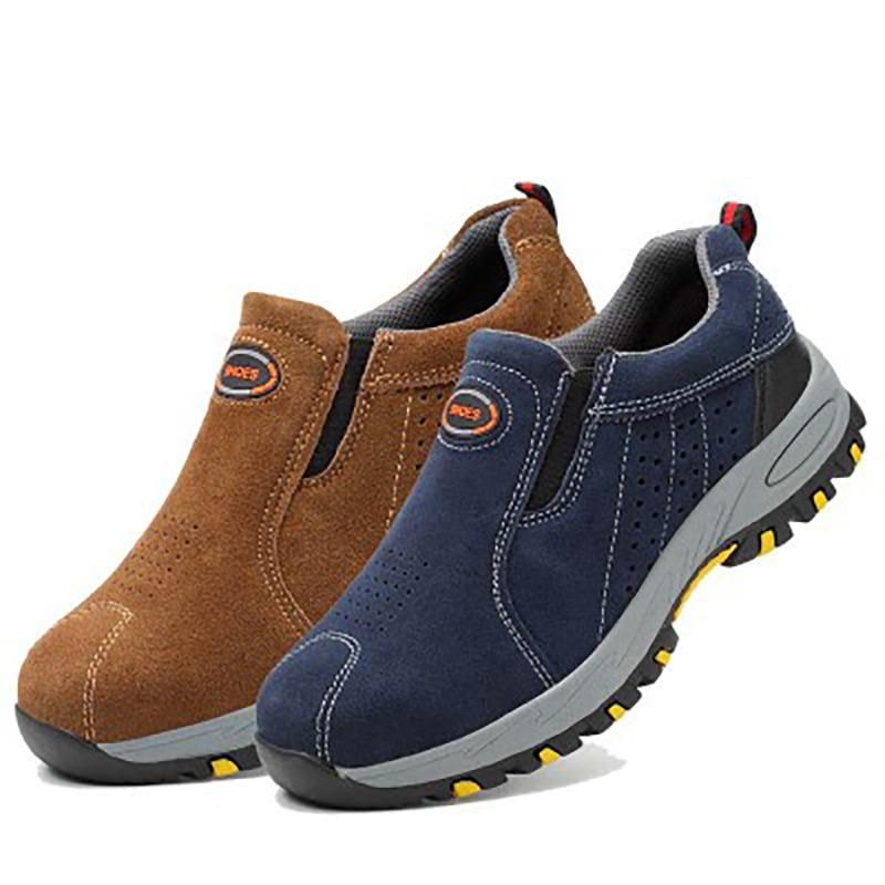 Production building leather shoes