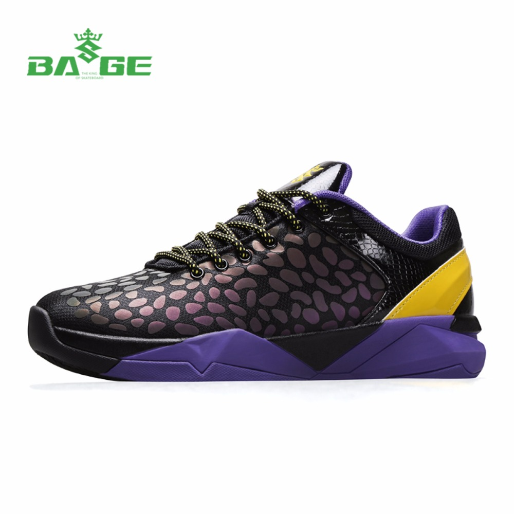 Bage Mens Breathable Basketball Shoes New Training Sneakers Large Size Sport Shoes Male Athletic Shoes Original Basketball Boots peak sport men outdoor bas basketball shoes medium cut breathable comfortable revolve tech sneakers athletic training boots