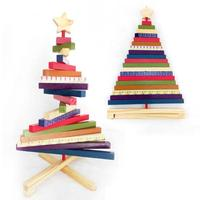Multicolor DIY Christmas Tree Ornament Children Kids Toy Xmas Home Party Decorations Kids Party Gift Xmas