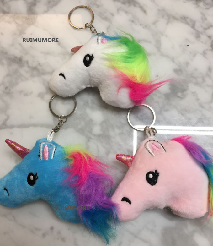 10PCS 8CM approx. Little Unicorn Plush Stuffed TOY DOLL ; Small Horse Wedding Gift Bouquet Decor TOY Candy Gift DOLL