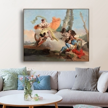 Strange luck John Baptist Tiepolo Wall Art Poster Print Canvas Painting Calligraphy Decor Picture for Living Room Home