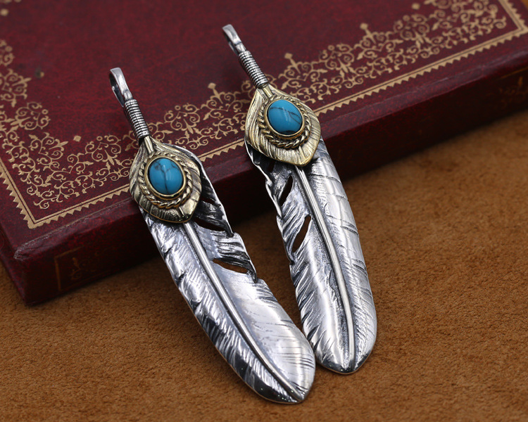 84f32c7432b2 S925 de plata esterlina Retro joyería de plata tailandesa Takahashi ...