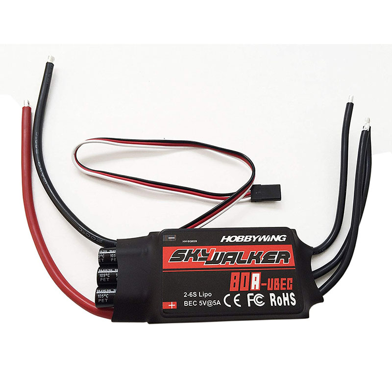 Image 2 - Hobbywing Skywalker 15A 20A 30A 40A 50A 60A 80A ESC Speed Controller With UBEC For RC Airplanes Helicopter-in Parts & Accessories from Toys & Hobbies