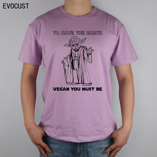 4e2fe7dab Товар to save the earth vegan you must be yoda star wars vegetarian ...