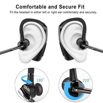 Cuffia Bluetooth Con Microfono   BH820 Affari Auricolare Senza Fili Bluetooth Auricolare Vivavoce Stereo HD Il Mic Noise Cancelling Auto Chiamata Bluetoot Cuffie E Scatole