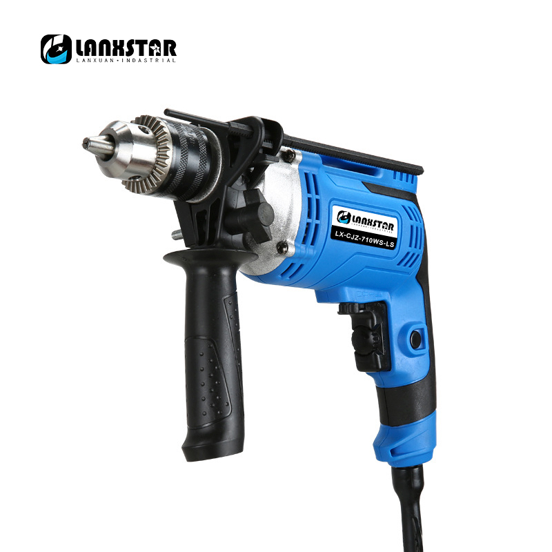 Multifunction Impact Drill 3000rpm Variable Speed Adjustable Industrial Electric Impact Drill Electric Hammer Woodworking Tool цена