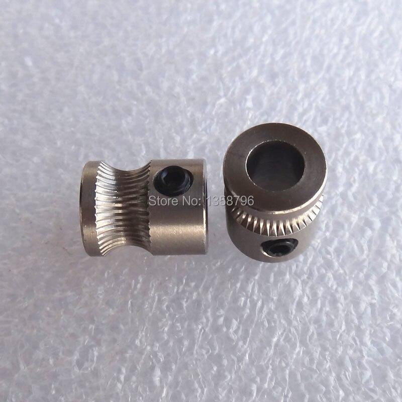 Көтерме 10pcs / lot MK8 Drive Gear үшін 1.75mm / 3mm - Кеңсе электроника - фото 2