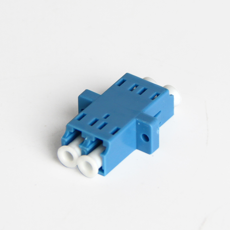 LC-LC Optical Fiber Coupler, LC-LC Duplex Multimode Single mode Simplex Fiber Optic Adapter, 50PC/Lot