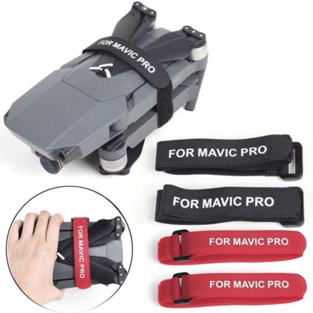 2 Pcs Propeller Blade Tape Straps Holder For DJI Mavic Pro Mavic AIR Motor Fixed Belt Hook Loop Cable Cord Ties Drone Accessory