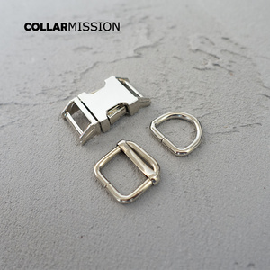 Image 3 - 10sets/lot (metal buckle+adjust buckle+D ring/set) safety clasp DIY sewing accessory 15mm plated metal buckle ziny alloy