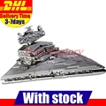 In Stock LEPIN 05027 Star Wars Imperial Star Destroyer Emperor Fighters Starship UCS Model Building Kit Blocks Bricks 10030