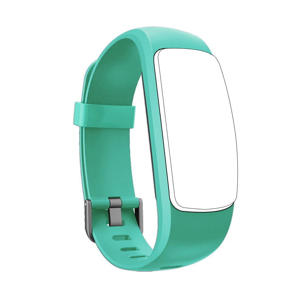 Image 3 - Silicone Smart Bracelet Adjustable Wristband Colorful Watchband Replacement Accessory For Fitness Tracker ID107 Plus HR-in Smart Accessories from Consumer Electronics