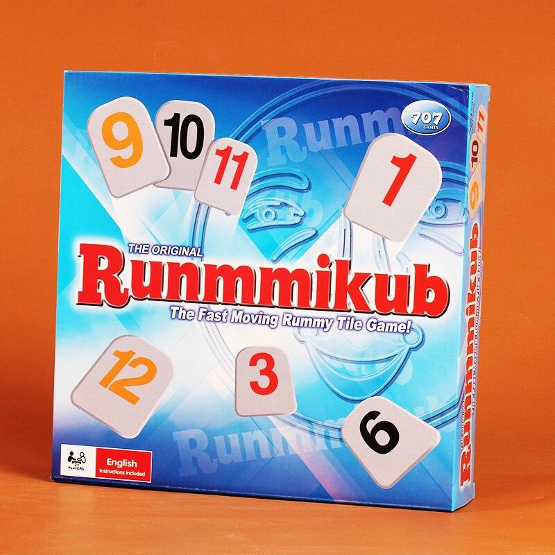 Classic Board Game Israel Mahjong Rummikub The Fast Moving Rummy