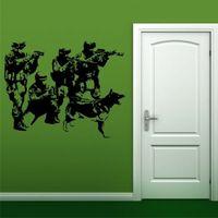 MILITARY K9 UNIT wall stickers teens bedroom den vinyl wall decals
