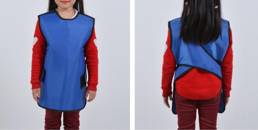 0.35mmpb Children Protective Lead Set, X-ray Y- Ray Protection Apron With Collar, Hospital,clinic Anti-radiation Clothes
