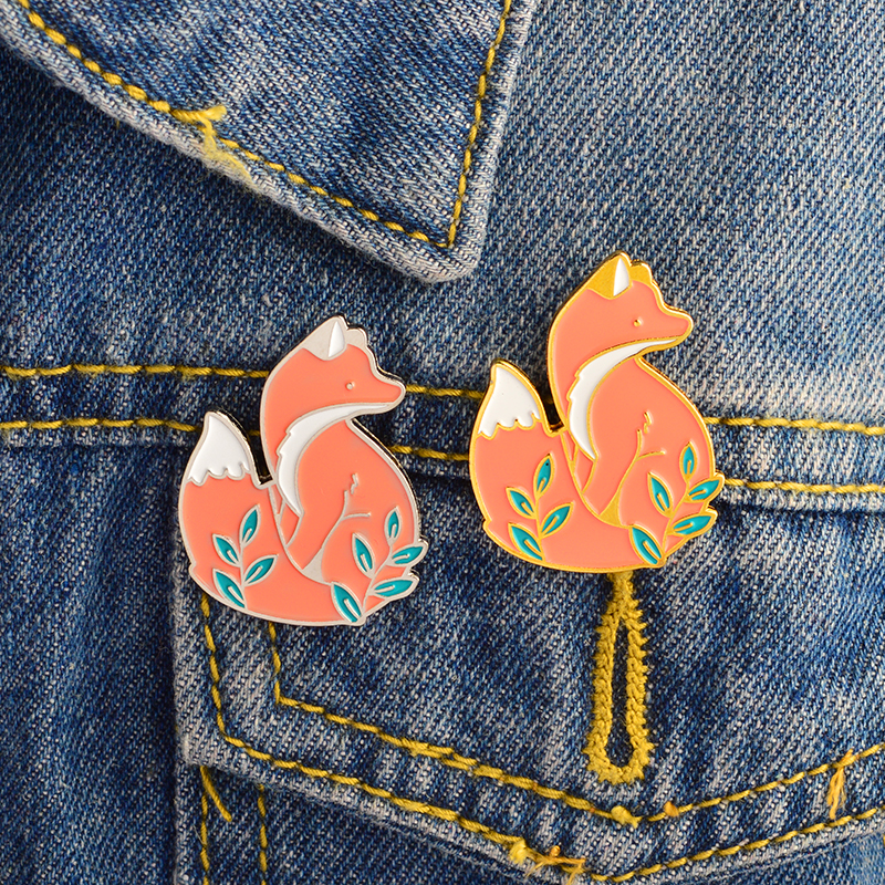 Badges 1 Pcs Cartoon Animals Sheep Metal Brooch Button Pins Denim Jacket Pin Jewelry Decoration Badge For Clothes Lapel Pins For Improving Blood Circulation