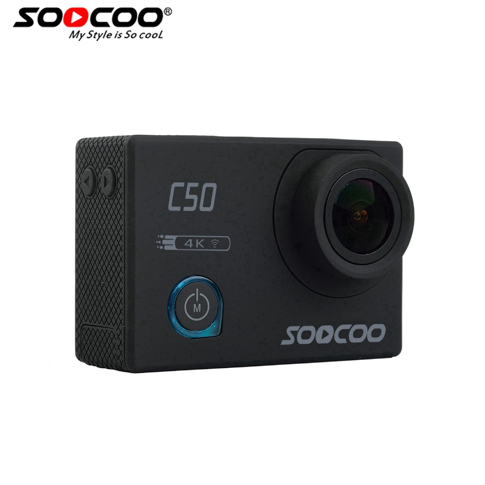 SOOCOO C50 Action 4K Sports Camera Wifi Gyro Adjustable Viewing angles NTK96660 30M Waterproof Sport DV Action Cam