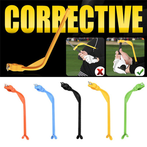 Golf Training Swing Pols Gebaren Posities Corrector Golf Beginner Uitlijning Golf Swing Trainer Hulp Swing Corrigeren Tool(China)