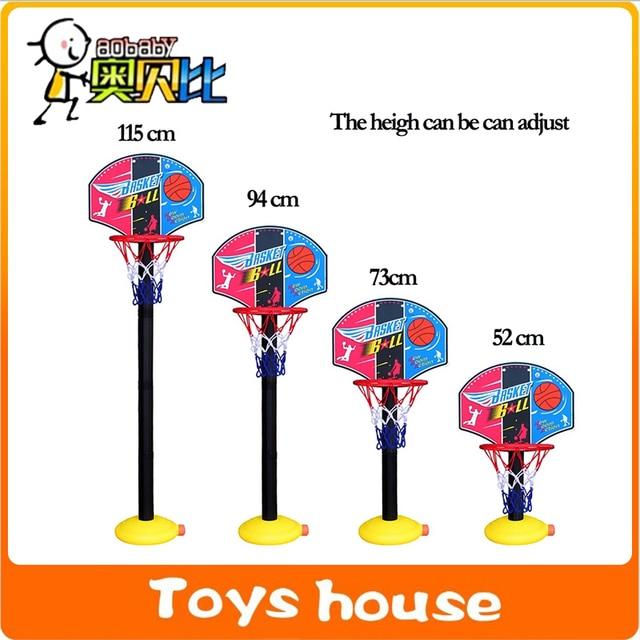 7 Outdoor Sports Boy Toys : Basketball set fun outdoor games kids toys brinquedos
