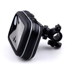 오토바이 핸들 바 방수 지퍼 케이스와 GPS 홀더 마운트 Garmin TomTom Magellan gps에 대 한 내부 크기 145*90*50mm