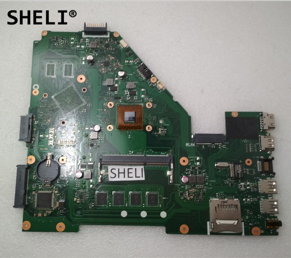 все цены на SHELI For Asus X550EA X550EP Motherboard with E1-2100 60NB03R0-MB1440 онлайн
