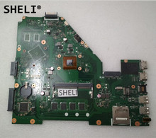 SHELI For Asus X550EA X550EP font b Motherboard b font with E1 2100 60NB03R0 MB1440