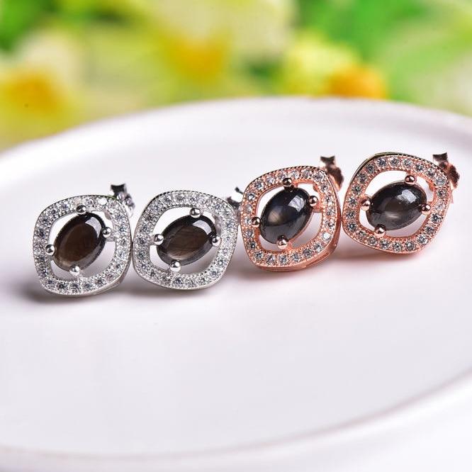 KJJEAXCMY boutique bijoux 925 collier de perles avec collier en saphir naturel, trois ensembles de bijoux de mariée, bijoux et bijoux. - 2
