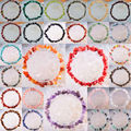 "Free Shipping Mixed Natural Chip Beads Amethyst Opal Agate Fluorite Quartz Carnelian Lapis  Stretch Bracelet 8"" 1Pcs"