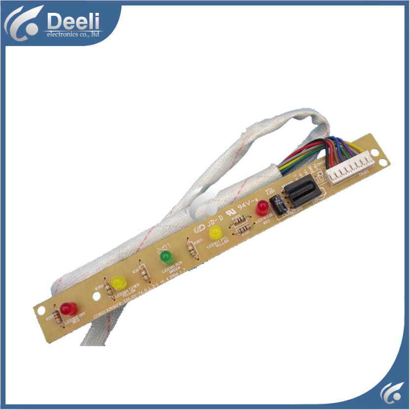 95% new good working for air conditioning receiving board KFR-32G/DY-T6 display board indoor air conditioning parts mpu kfr 35gw dy t1 computer board kfr 35gw dy t used disassemble