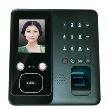 Face Fingerprint Recognition Time Attendance Terminal with A